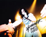 ANDREW W.K. SIGNED 8X10 PHOTO 2