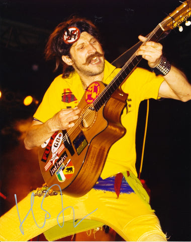 EUGENE HUTZ SIGNED GOGOL BORDELLO 8X10 PHOTO 2