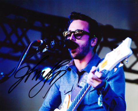JOHN GOURLEY SIGNED PORTUGAL. THE MAN 8X10 PHOTO 5