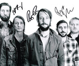 BAND OF HORSES SIGNED 8X10 PHOTO