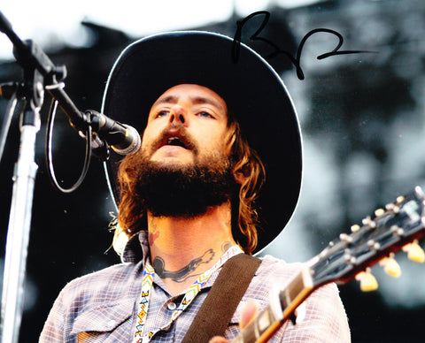 BEN BRIDWELL SIGNED BAND OF HORSES 8X10 PHOTO