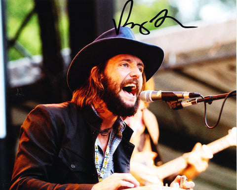 BEN BRIDWELL SIGNED BAND OF HORSES 8X10 PHOTO 2