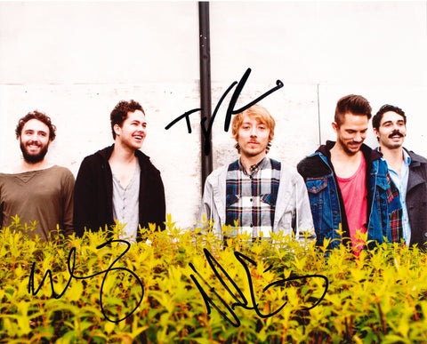 LOCAL NATIVES SIGNED 8X10 PHOTO