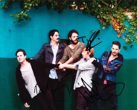 LOCAL NATIVES SIGNED 8X10 PHOTO 2