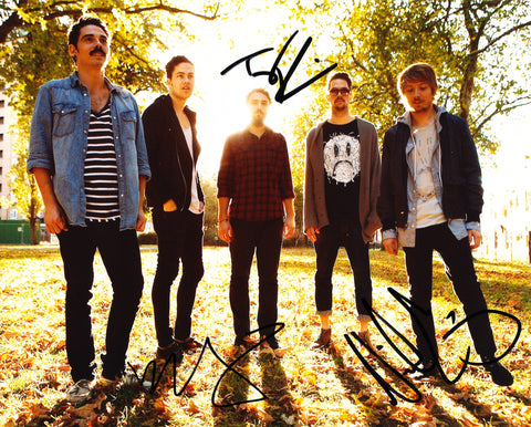 LOCAL NATIVES SIGNED 8X10 PHOTO 3