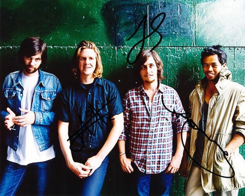 THE TEMPER TRAP SIGNED 8X10 PHOTO