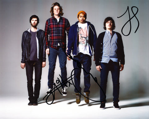 THE TEMPER TRAP SIGNED 8X10 PHOTO 2