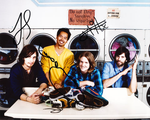 THE TEMPER TRAP SIGNED 8X10 PHOTO 3