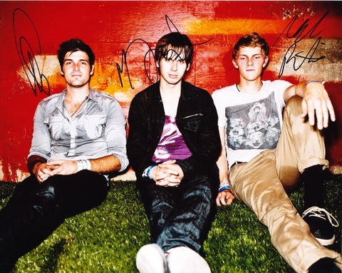 FOSTER THE PEOPLE SIGNED 8X10 PHOTO