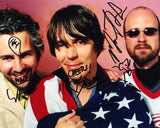 THE FLAMING LIPS SIGNED 8X10 PHOTO