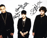 THE XX SIGNED 8X10 PHOTO 2