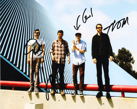 ALT-J SIGNED 8X10 PHOTO 2