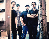 JIM ADKINS SIGNED JIMMY EAT WORLD 8X10 PHOTO