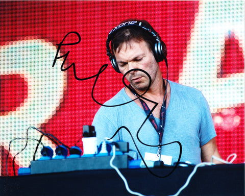 PETE TONG SIGNED 8X10 PHOTO 5