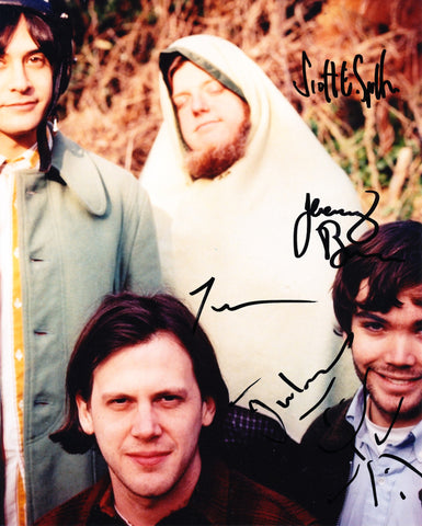 NEUTRAL MILK HOTEL SIGNED 8X10 PHOTO 2