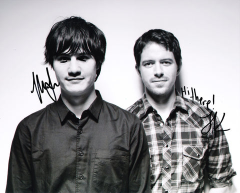 THE DODOS SIGNED 8X10 PHOTO 3
