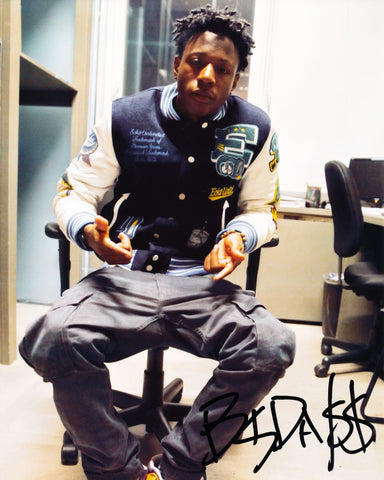 JOEY BADA$$ SIGNED 8X10 PHOTO BADASS 3