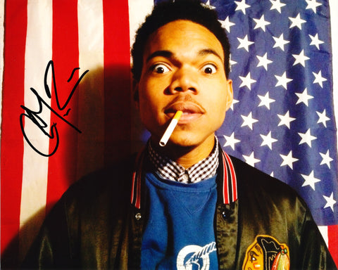 CHANCE THE RAPPER SIGNED 8X10 PHOTO