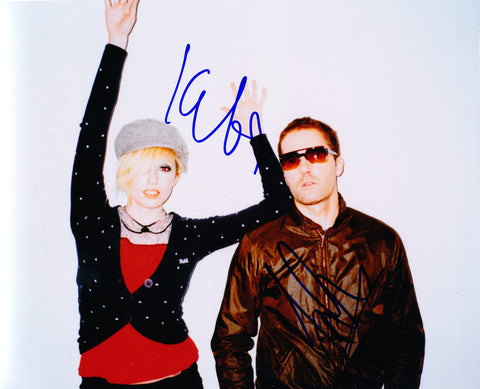 THE TING TINGS SIGNED 8X10 PHOTO 3