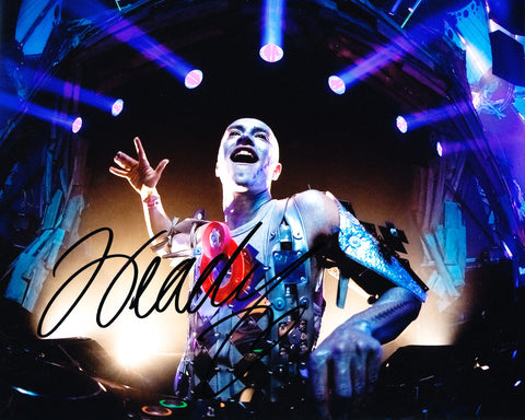 HEADHUNTERZ SIGNED 8X10 PHOTO WILLEM REBERGEN