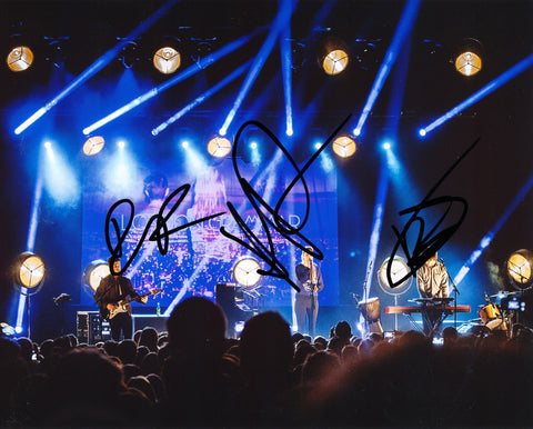LONDON GRAMMAR SIGNED 8X10 PHOTO 3