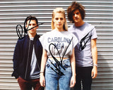 LONDON GRAMMAR SIGNED 8X10 PHOTO 6