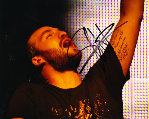 STEVE ANGELLO SIGNED 8X10 PHOTO SWEDISH HOUSE MAFIA 3