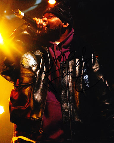 GHOSTFACE KILLAH SIGNED WU TANG CLAN 8X10 PHOTO