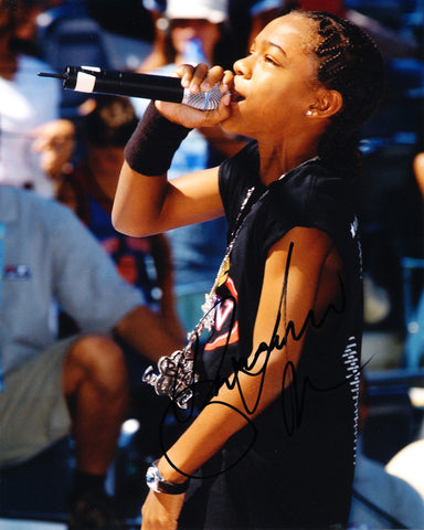 LIL BOW WOW SIGNED 8X10 PHOTO SHAD GREGORY MOSS
