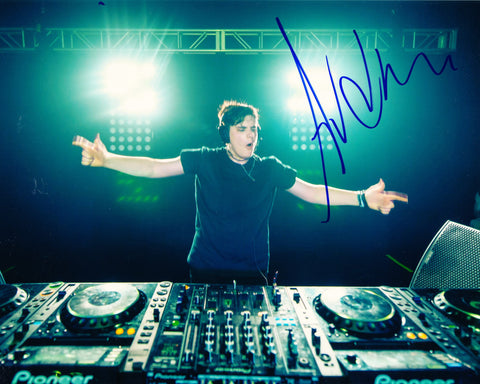 DJ AUDIEN SIGNED 8X10 PHOTO NATE RATHBUN 4