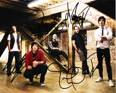 SIMPLE PLAN SIGNED 8X10 PHOTO 5