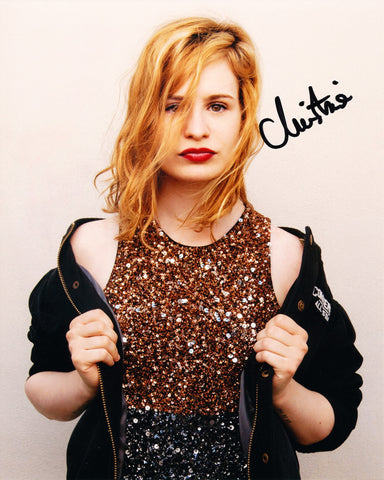 HELOISE LETISSIER SIGNED CHRISTINE AND THE QUEENS 8X10 PHOTO 3
