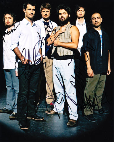 THE CAT EMPIRE SIGNED 8X10 PHOTO