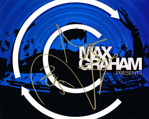 MAX GRAHAM SIGNED 8X10 PHOTO