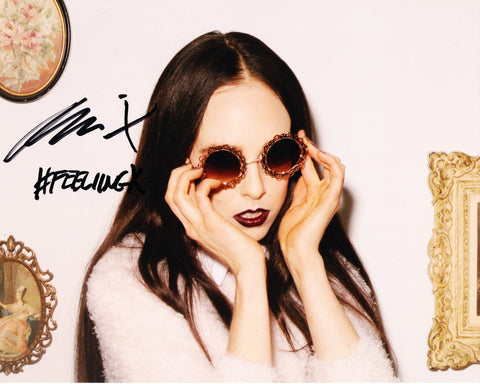 ALLIE X SIGNED 8X10 PHOTO