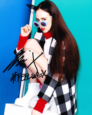 ALLIE X SIGNED 8X10 PHOTO 3