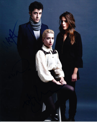 AUSTRA BAND SIGNED 8X10 PHOTO