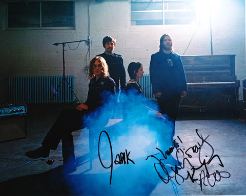 BESNARD LAKES SIGNED 8X10 PHOTO