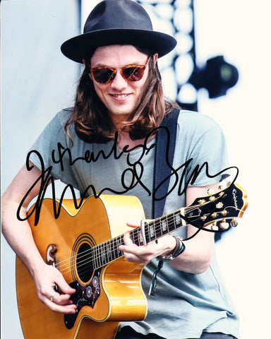 JAMES BAY SIGNED 8X10 PHOTO
