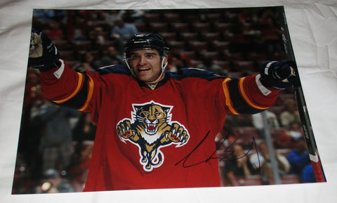 AARON EKBLAD SIGNED FLORIDA PANTHERS 11X14 PHOTO