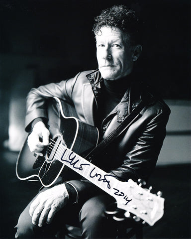 LYLE LOVETT SIGNED 8X10 PHOTO 3