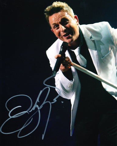 JOHNNY REID SIGNED 8X10 PHOTO 2