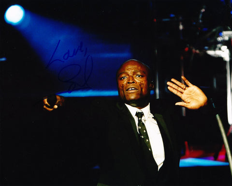 SEAL SIGNED 8X10 PHOTO HENRY OLUSEGUN ADEOLA SAMUEL 3