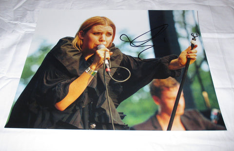 LYKKE LI SIGNED 11X14 PHOTO