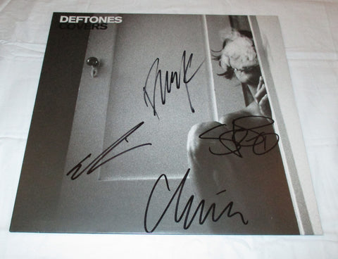 DEFTONES SIGNED COVERS VINYL RECORD