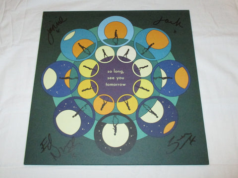 BOMBAY BICYCLE CLUB SIGNED SO LONG, SEE YOU TOMORROW VINYL RECORD