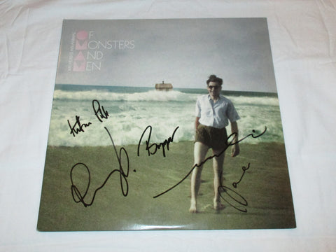 OF MONSTERS AND MEN SIGNED ME HEAD IS AN ANIMAL VINYL RECORD