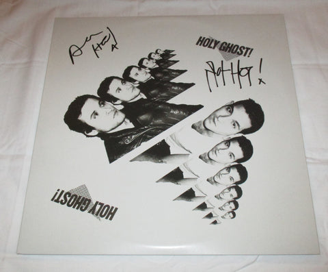 HOLY GHOST! SIGNED VINYL RECORD