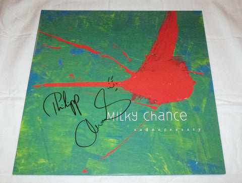 MILKY CHANCE SIGNED SADNECESSARY VINYL RECORD