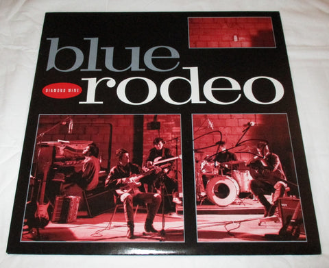 JIM CUDDY SIGNED BLUE RODEO DIAMOND MINE VINYL RECORD